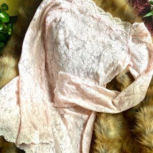 Victoria's Secret Pink Lace Dress